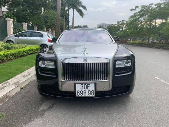 Rolls-Royce Ghost EWB rao bán như xe thường - Khi siêu sang hết hiếm tại Việt Nam - Ảnh 1.
