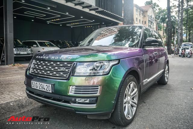 Range Rover Autobiography LWB ngũ sắc của đại gia Sài Gòn - Ảnh 7.