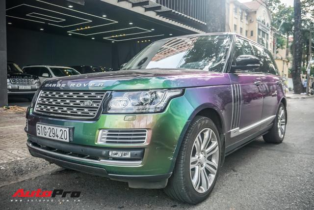 Range Rover Autobiography LWB ngũ sắc của đại gia Sài Gòn - Ảnh 16.
