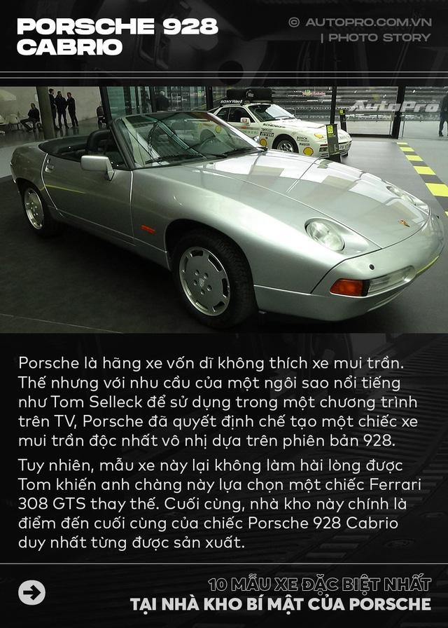 Điểm mặt 10 phiên bản siêu đặc biệt tại nhà kho của Porsche - Ảnh 6.