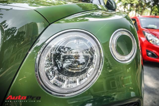 Bentley Bentayga màu xanh lục độc nhất Việt Nam tái xuất trên phố Sài Gòn - Ảnh 6.