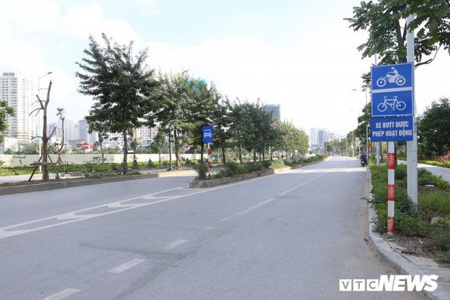Ảnh: Cận cảnh phố 8 làn xe ở Hà Nội mang tên nhà tư sản Trịnh Văn Bô - Ảnh 8.