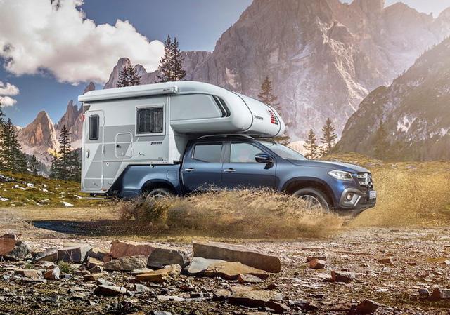 Bán tải hạng sang Mercedes-Benz X-Class biến thành xe cắm trại - Ảnh 1.
