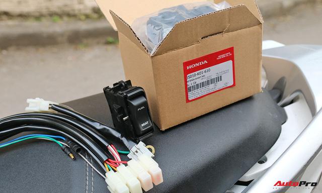 Quy trình tự lắp đặt khoá thông minh Honda SH và PCX lên các dòng xe khác - Ảnh 1.