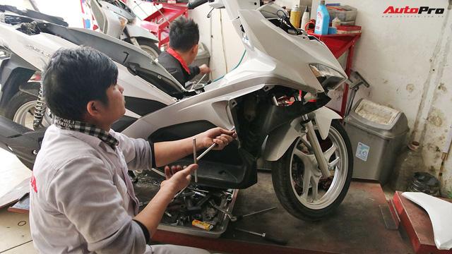 Quy trình tự lắp đặt khoá thông minh Honda SH và PCX lên các dòng xe khác - Ảnh 2.