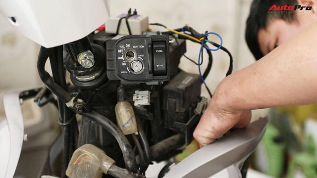 Quy trình tự lắp đặt khoá thông minh Honda SH và PCX lên các dòng xe khác - Ảnh 3.