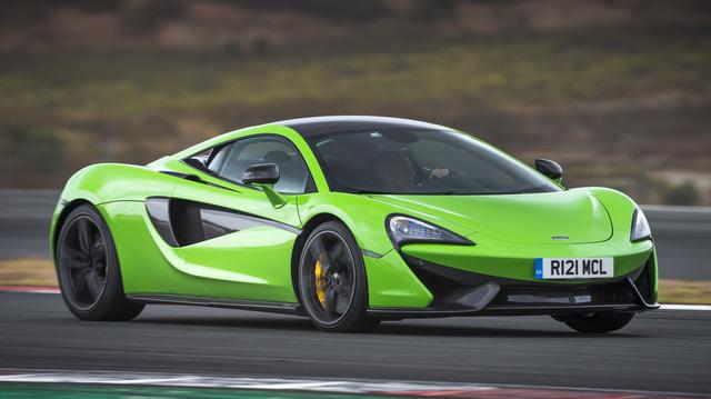 """""""Người kế nhiệm"""" McLaren 570S sẽ ra mắt vào năm 2019"""
