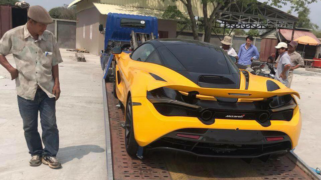 Đại gia Campuchia tiếp tục tậu siêu xe McLaren 720S