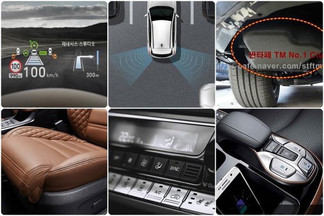 Không chỉ thay đổi thiết kế, Hyundai Santa Fe 2019 còn có nhiều công nghệ mới hơn hẳn trước đây - Ảnh 1.