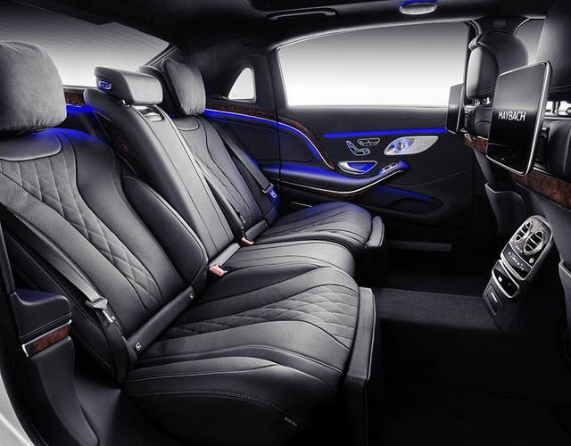 Mercedes-Maybach S-Class 2018 chính thức ra mắt, thừa hưởng những đường nét của bản Vision concept - Ảnh 5.