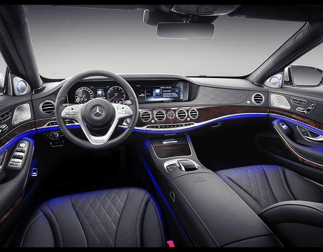 Mercedes-Maybach S-Class 2018 chính thức ra mắt, thừa hưởng những đường nét của bản Vision concept - Ảnh 3.