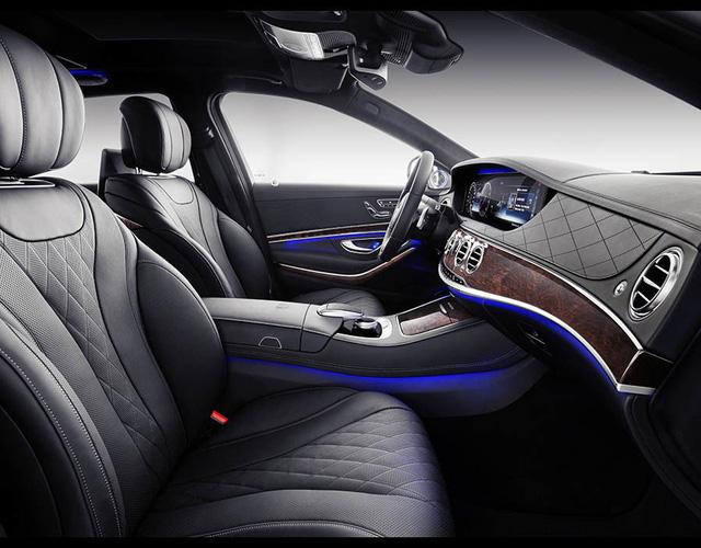 Mercedes-Maybach S-Class 2018 chính thức ra mắt, thừa hưởng những đường nét của bản Vision concept - Ảnh 4.