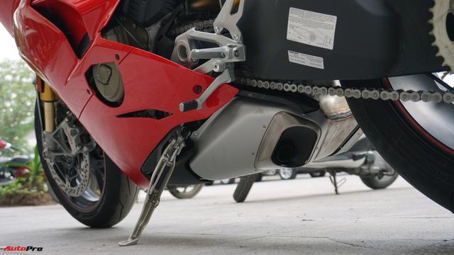 [Video] Mục sở thị siêu mô tô Ducati Panigale V4 S giá ngang Mẹc GLA của biker Hà Nội - Ảnh 11.