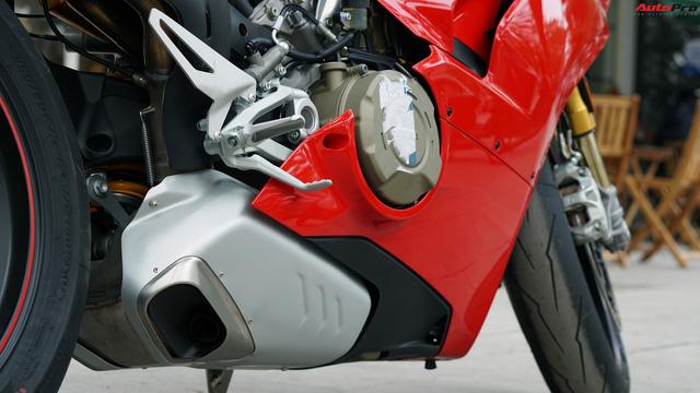 [Video] Mục sở thị siêu mô tô Ducati Panigale V4 S giá ngang Mẹc GLA của biker Hà Nội - Ảnh 10.