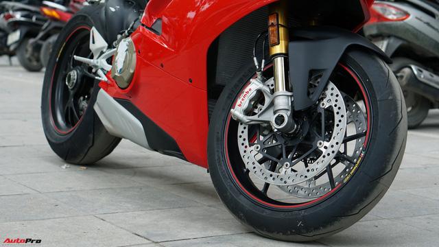 [Video] Mục sở thị siêu mô tô Ducati Panigale V4 S giá ngang Mẹc GLA của biker Hà Nội - Ảnh 13.