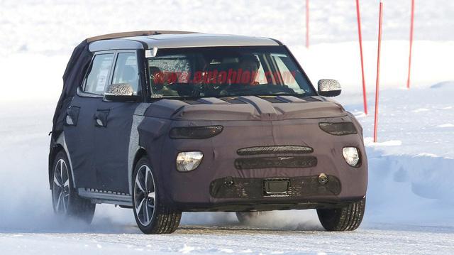Kia Soul âm thầm được phát triển để cạnh tranh Ford EcoSport, Honda HR-V