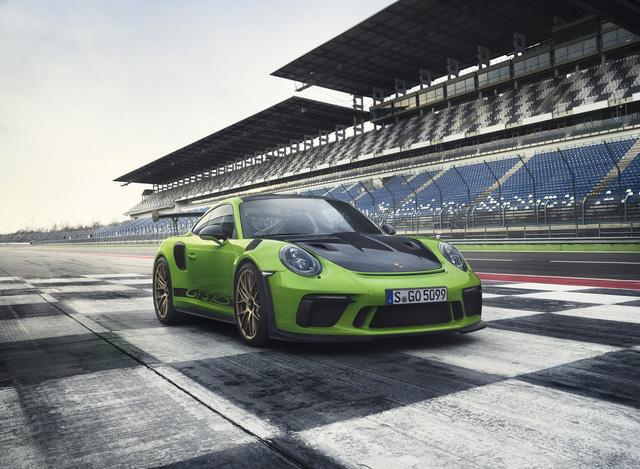Porsche 911 GT3 RS facelift chính thức lộ diện - Ảnh 1.