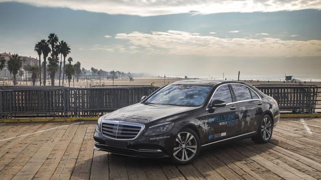 Xe Mercedes-Benz sẽ được dùng làm taxi tự lái hạng sang đầu tiên - Ảnh 4.