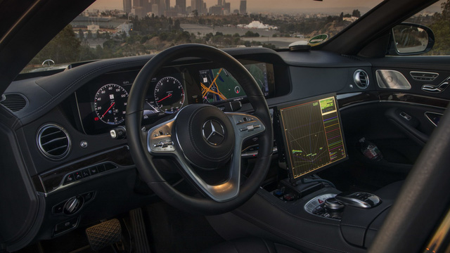 Xe Mercedes-Benz sẽ được dùng làm taxi tự lái hạng sang đầu tiên - Ảnh 5.