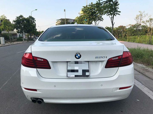 BMW 520i đời 2014 lăn bánh hơn 35.000 km rao bán lại giá 1,39 tỷ - Ảnh 3.