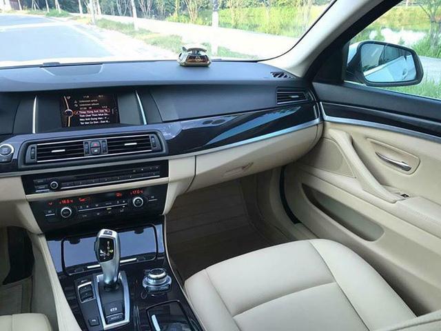 BMW 520i đời 2014 lăn bánh hơn 35.000 km rao bán lại giá 1,39 tỷ - Ảnh 6.