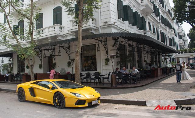 Lamborghini Aventador biển Sài Gòn dạo chơi tại Hà Nội chuẩn bị Car & Passion 2018 - Ảnh 7.