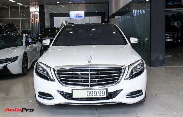 Mercedes-Benz S500 biển tứ quý 9 đi 53.000km rao bán lại giá 4,7 tỷ đồng - Ảnh 2.