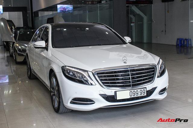Mercedes-Benz S500 biển tứ quý 9 đi 53.000km rao bán lại giá 4,7 tỷ đồng - Ảnh 1.