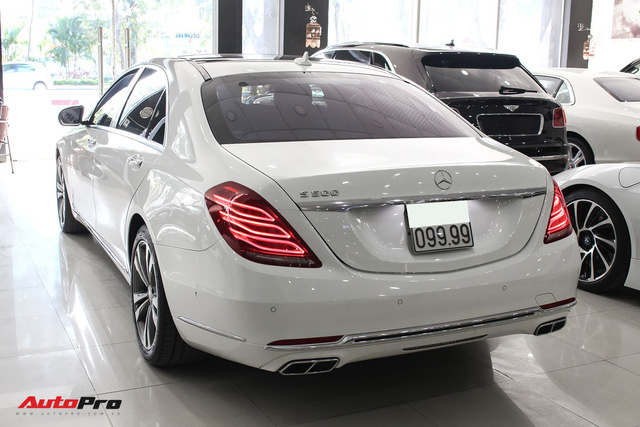 Mercedes-Benz S500 biển tứ quý 9 đi 53.000km rao bán lại giá 4,7 tỷ đồng - Ảnh 7.