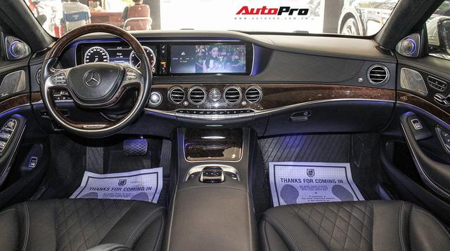 Mercedes-Benz S500 biển tứ quý 9 đi 53.000km rao bán lại giá 4,7 tỷ đồng - Ảnh 12.