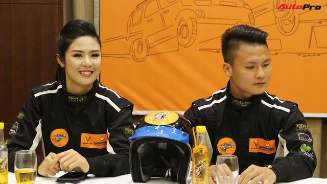 Vì sao tiền vệ U23 Quang Hải và Hoa hậu Ngọc Hân tham gia giải đua xe địa hình Việt Nam?