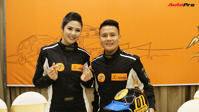 Vì sao tiền vệ U23 Quang Hải và Hoa hậu Ngọc Hân tham gia giải đua xe địa hình Việt Nam? - Ảnh 5.