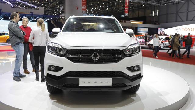Chi tiết SsangYong Musso 2018 - Đối thủ mới của Ford Ranger - Ảnh 2.