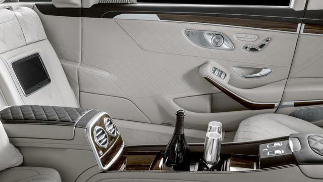 Sắp ra mắt Mercedes-Maybach Pullman 2019 - limo cho giới thượng lưu - Ảnh 5.