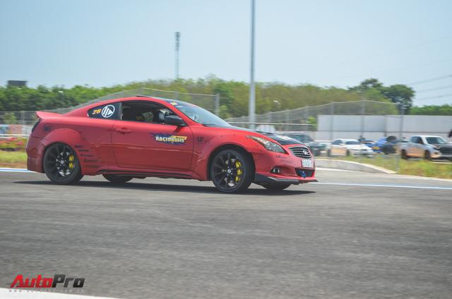 Dàn siêu xe và xe thể thao đua tốc độ tại trường đua Đại Nam - Ảnh 4.
