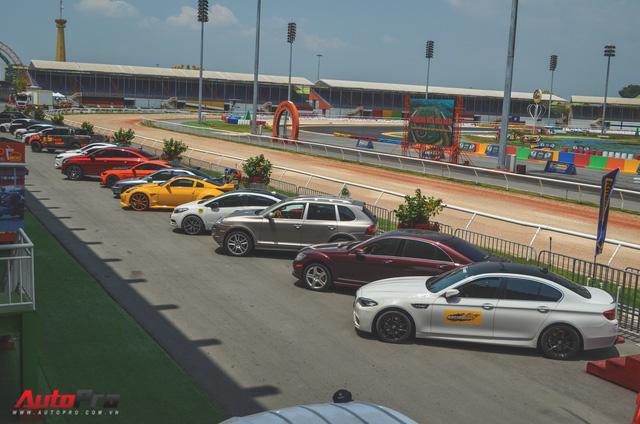 Dàn siêu xe và xe thể thao đua tốc độ tại trường đua Đại Nam - Ảnh 13.
