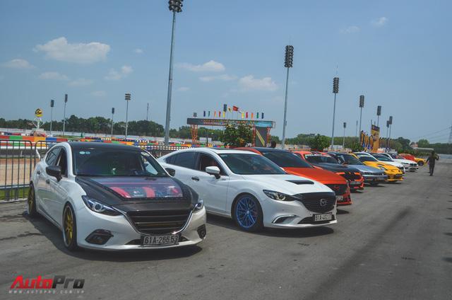 Dàn siêu xe và xe thể thao đua tốc độ tại trường đua Đại Nam - Ảnh 16.