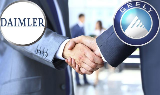 Geely thỏa mãn với Daimler, ngưng thâu tóm cổ phần - Ảnh 2.