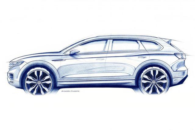 Touareg 2018 - Tham vọng lên đời của Volkswagen - Ảnh 1.