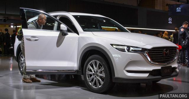 SUV 7 chỗ Mazda CX-8 sắp ra mắt Đông Nam Á - Ảnh 1.