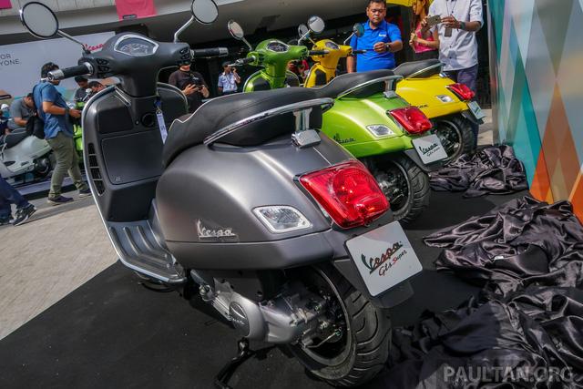 Vespa GTS 300 lắp ráp tại Việt Nam có giá hơn 157 triệu đồng tại Malaysia - Ảnh 4.