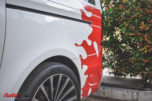"""Mercedes-Benz V250 độ Larte Design của đại gia Minh """"nhựa"""" lên đời tem giống Lamborghini Aventador SV - Ảnh 5."""
