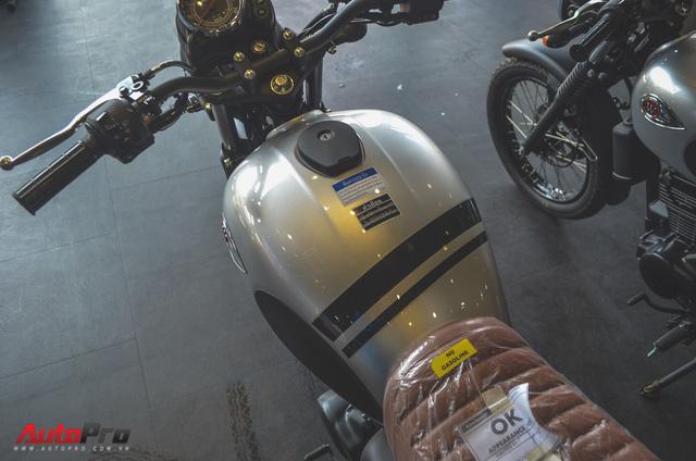 Chi tiết Kawasaki W175 - Mô tô cổ điển có giá ngang ngửa Honda SH 125 tại Việt Nam - Ảnh 5.