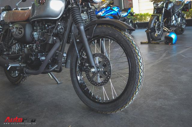 Chi tiết Kawasaki W175 - Mô tô cổ điển có giá ngang ngửa Honda SH 125 tại Việt Nam - Ảnh 7.