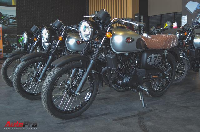 Chi tiết Kawasaki W175 - Mô tô cổ điển có giá ngang ngửa Honda SH 125 tại Việt Nam - Ảnh 1.