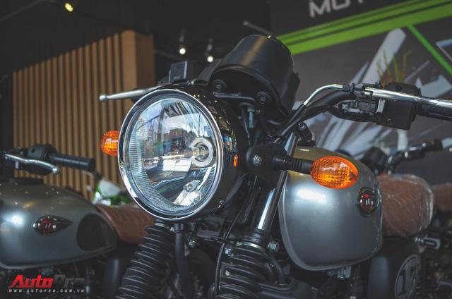 Chi tiết Kawasaki W175 - Mô tô cổ điển có giá ngang ngửa Honda SH 125 tại Việt Nam - Ảnh 3.
