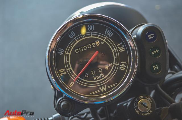 Chi tiết Kawasaki W175 - Mô tô cổ điển có giá ngang ngửa Honda SH 125 tại Việt Nam - Ảnh 10.