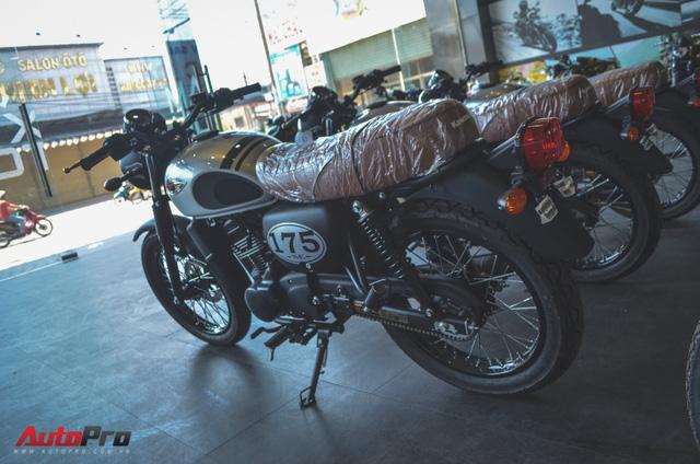 Chi tiết Kawasaki W175 - Mô tô cổ điển có giá ngang ngửa Honda SH 125 tại Việt Nam - Ảnh 2.