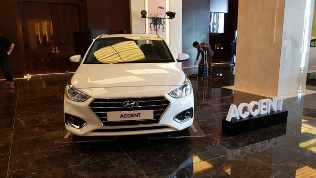 Hyundai Accent 2018 đã về Việt Nam, sẵn sàng đấu Toyota Vios - Ảnh 1.