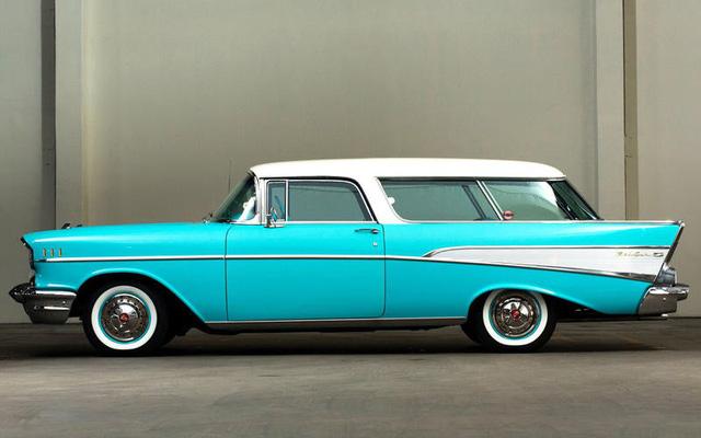 Chevrolet Nomad – Crossover đầu tiên ít ai biết - Ảnh 2.